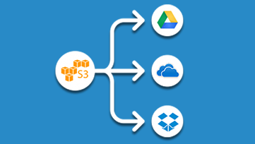 Transfer files from Amazon S3 to Google Drive, Dropbox ...