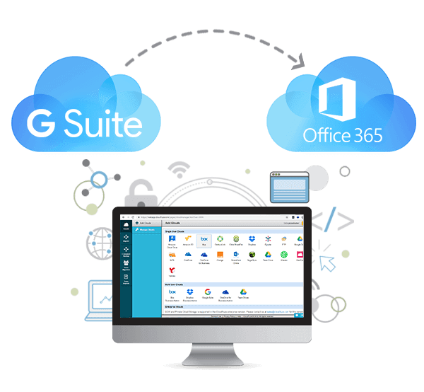 GSuite to Office 365 Migration