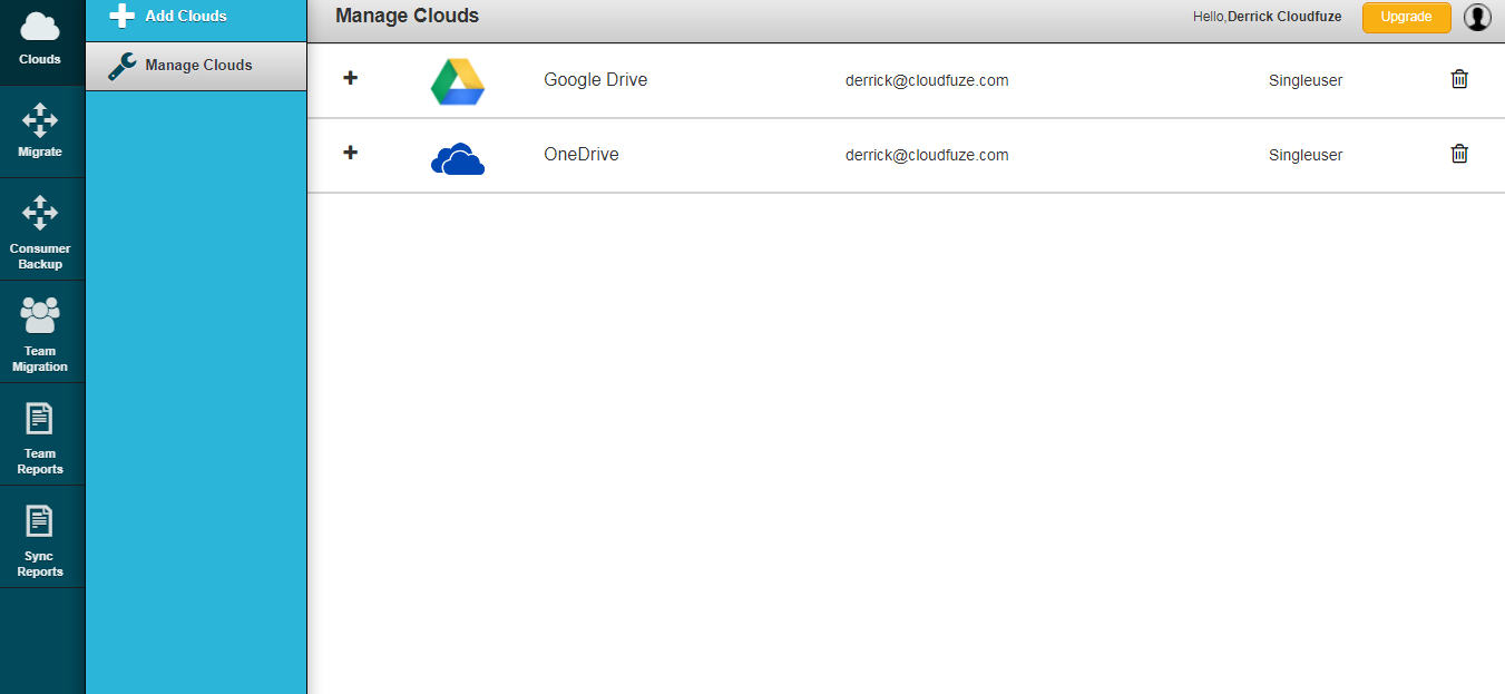 How to Sync Google Drive to OneDrive? - CloudFuze