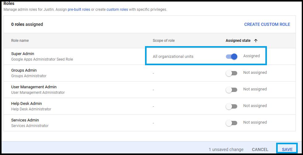 Verify Super Admin Status
